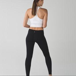 Lululemon Low-Rise Black Leggings